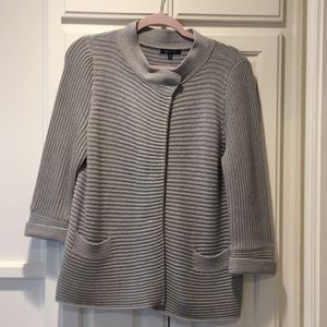 Anne Klein grey sweater